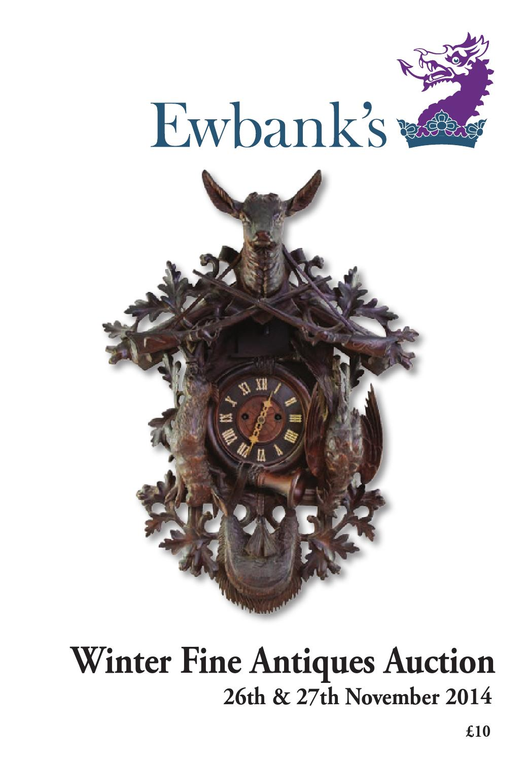 Vintage industrial clock double sided factory clock brilli 233 - Ewbanks Winter Fine Art Antiques 26 27 November 2014 By Andrew Ewbank Issuu