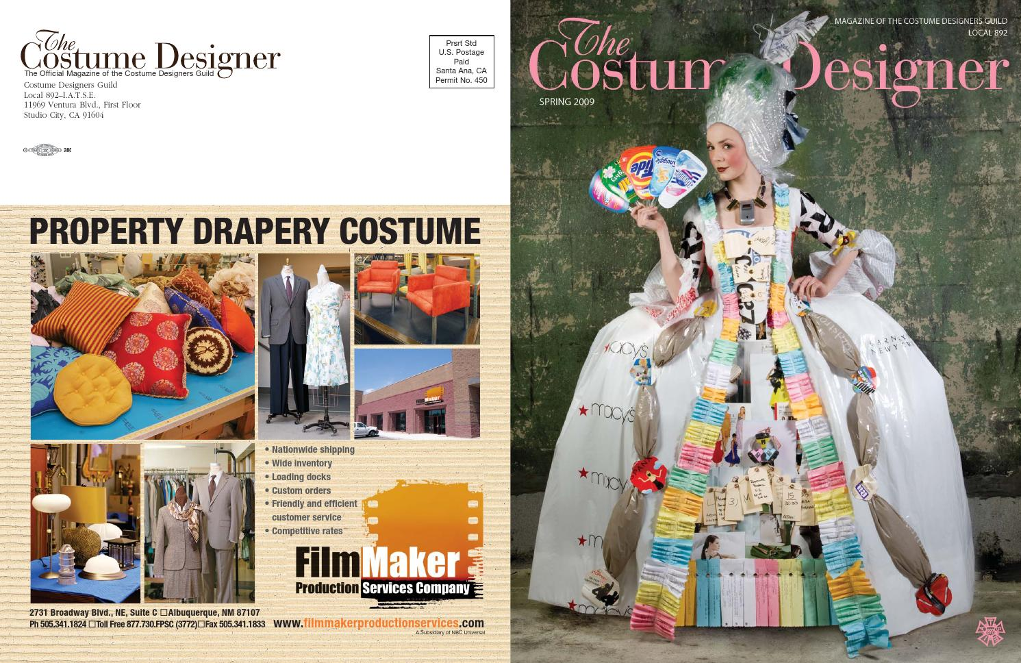 The Costume Designer Spring 2009 By Costume Designers Guild Issuu