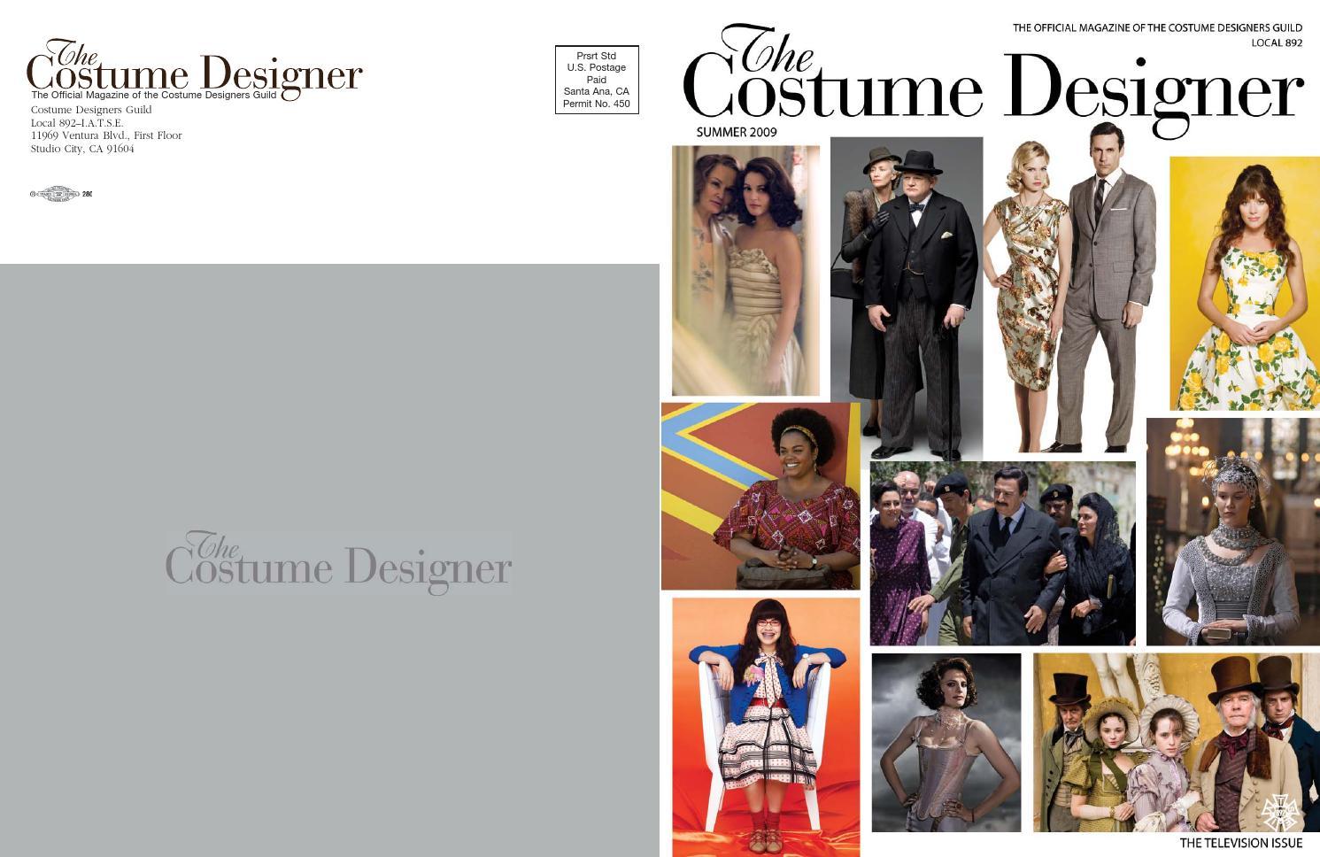 The Costume Designer Summer 2009 By Costume Designers Guild Issuu