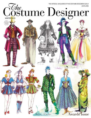 The Costume Designer Winter 2010 By Costume Designers