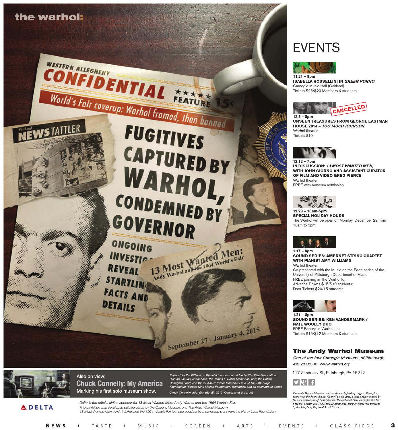 November 19, 2014 by Pittsburgh City Paper - issuu