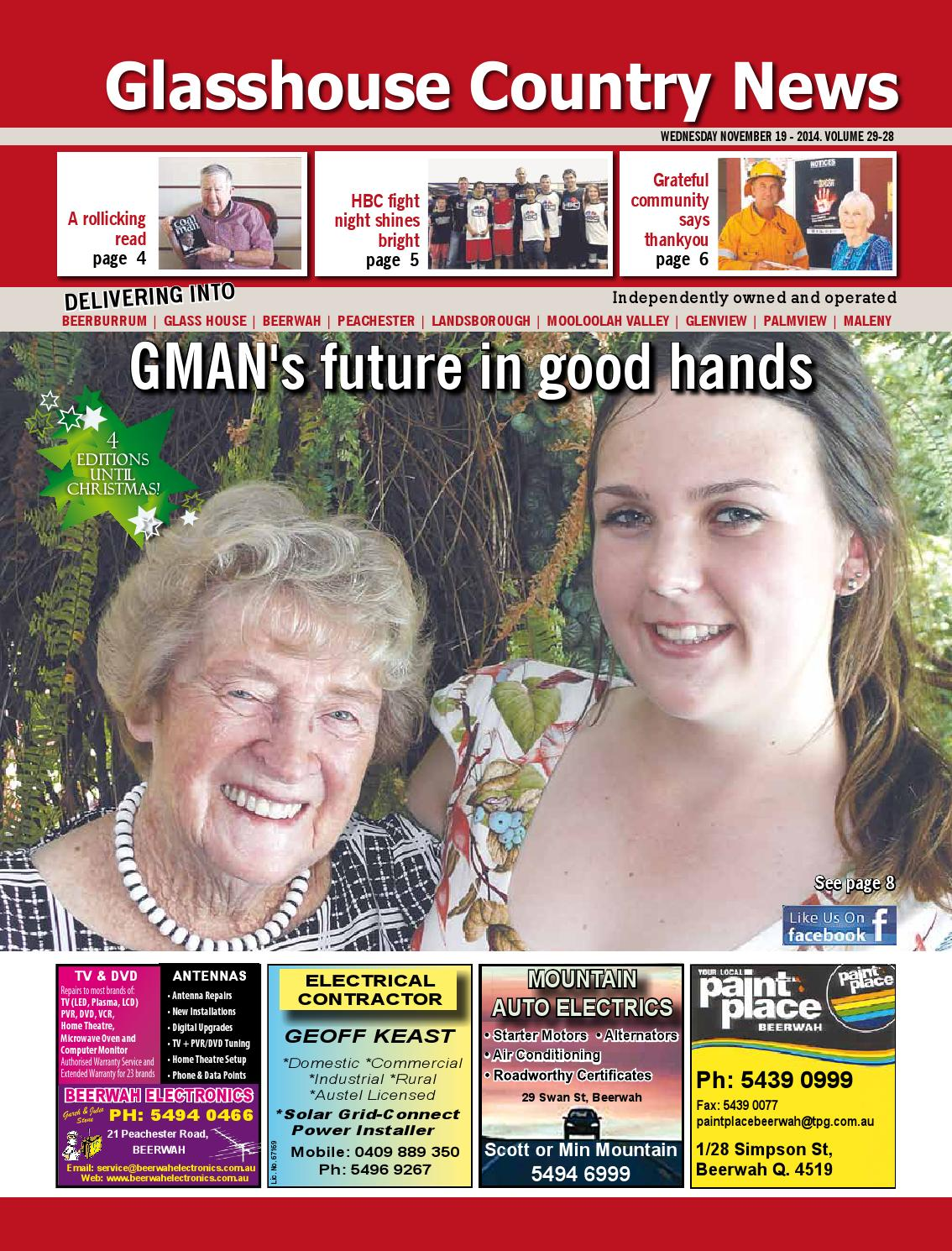 Edition 19 November 2014 By Glasshouse Country Amp Maleny