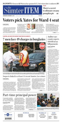 The Indiana Gazette, Nov. 8, 2015 by Indiana Printing & Publishing - issuu