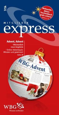 Schmutzige Weihnachtsgedichte.Mitglieder Express 7 14 By Wbg Wissen Bildung Gemeinschaft Issuu