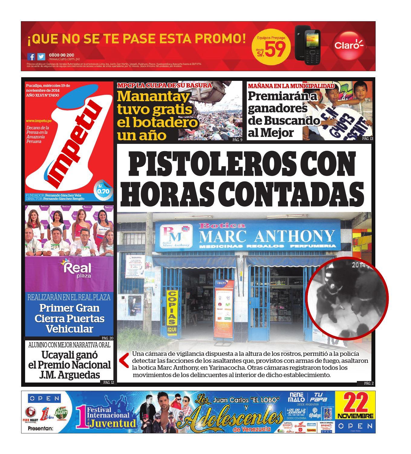 c09c2921 Impetu 19 de noviembre de 2014 by Diario Ímpetu - issuu