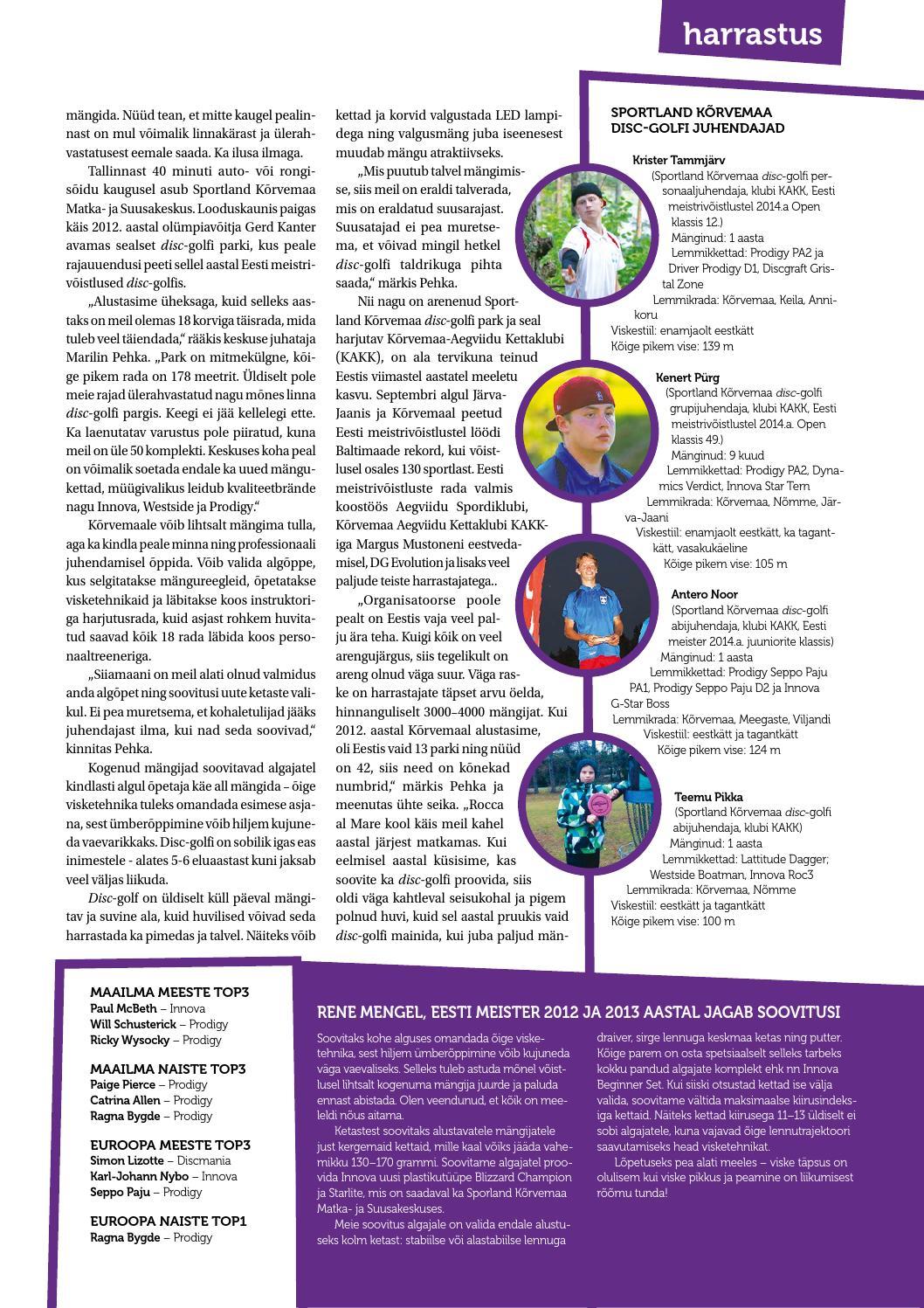 df8b455d30a Sportland Magazine #11 by Sportland Eesti - issuu