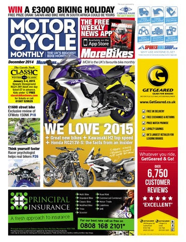 Motor Cycle Monthly - December 2014 - FULL EDITION by