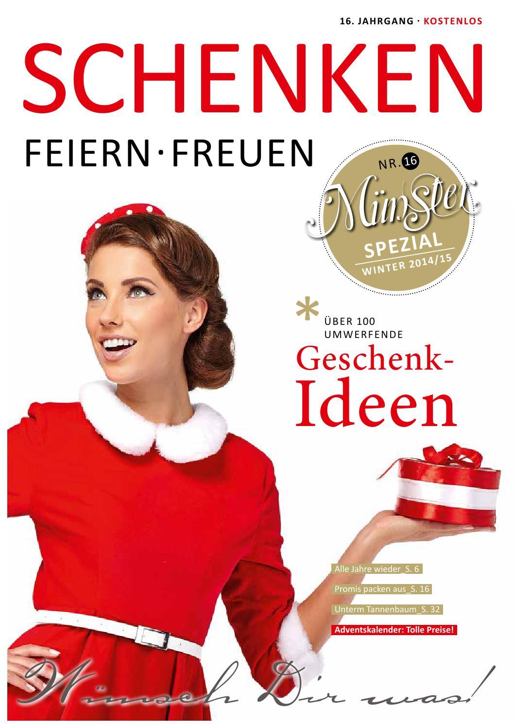Münster Spezial Schenken Feiern Freuen by Tips Verlag GmbH - issuu