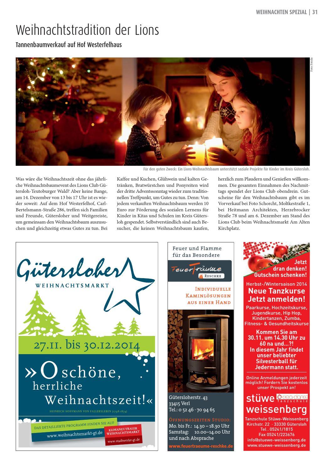 Weihnachtsbaum Kaufen Gütersloh.Gt Info