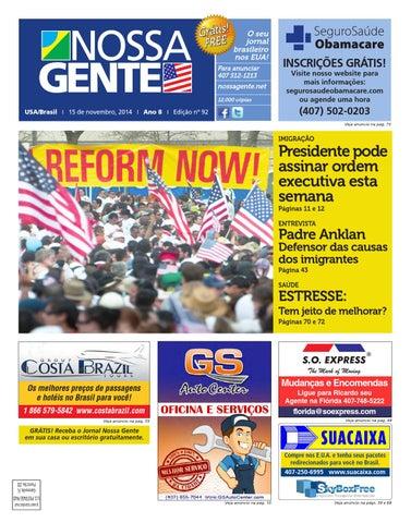 fa10500a8 Nossa Gente 92 by Nossa Gente - issuu