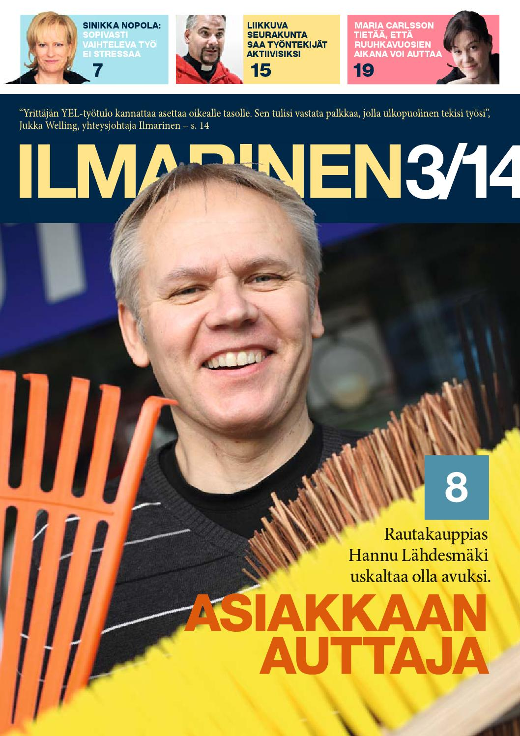 Ilmarinen 3/2014 by Zeeland Family - Issuu