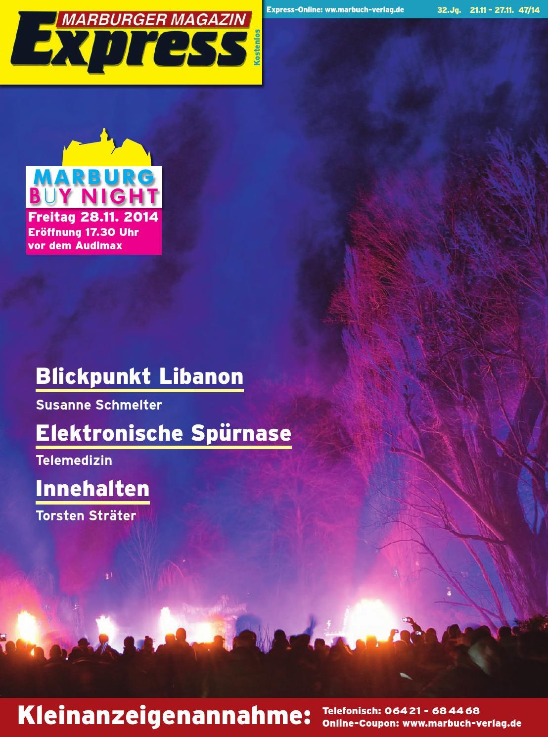 Marburger Magazin Express 47/2014 by Ulrich Butterweck - issuu