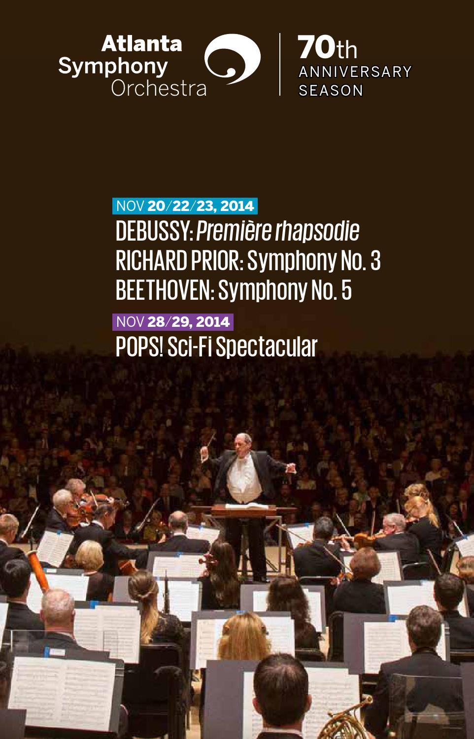 Atlanta Symphony Orchestra: November 2014 by Encore Atlanta