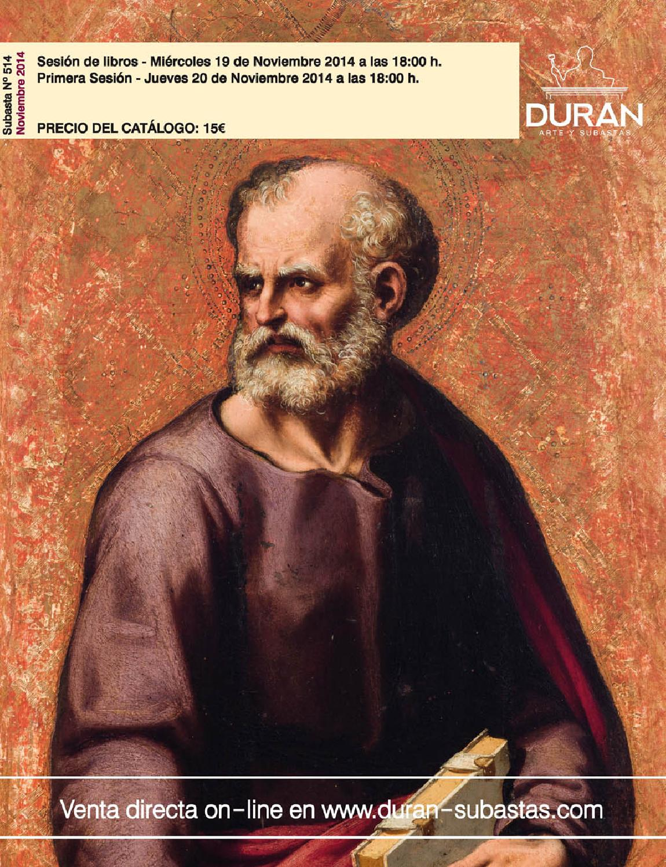 Duran subastas noviembre 2014 arte by consuelo duran issuu for Subastas duran muebles