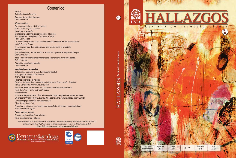 15b18e418073 Revista Hallazgos No. 21 by Universidad Santo Tomás - issuu