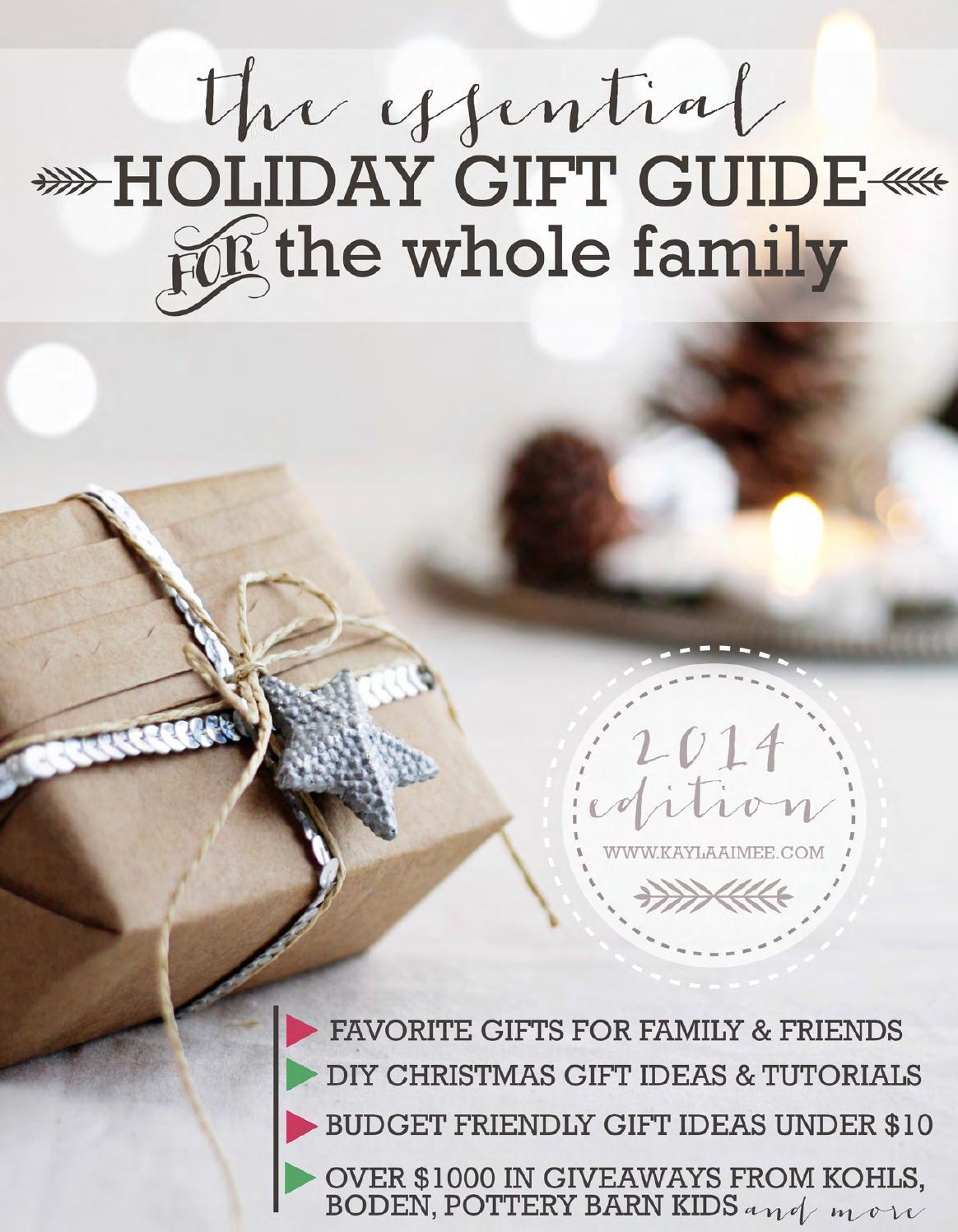 2014 Holiday Gift Guide by Kayla Aimee by Kayla Aimee - issuu