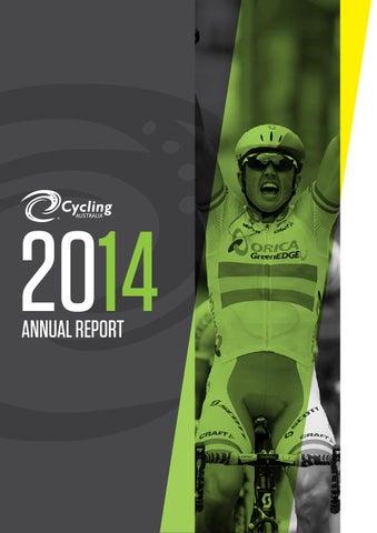 2014 Cycling Australia Annual Report by Cycling Australia - issuu c8761e760