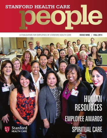 Stanford Health Care People - Fall 2014 by Stanford Health