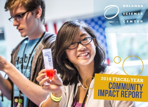 Roetzel Mannheim 2014 community impact report by orlando science center issuu