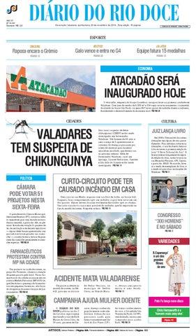 92193f86335 Diário do Rio Doce - Edição de 20 11 2014 by Diário do Rio Doce - issuu