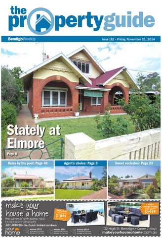 bendigo weekly property guide issue 892 fri nov 21 2014 by rh issuu com