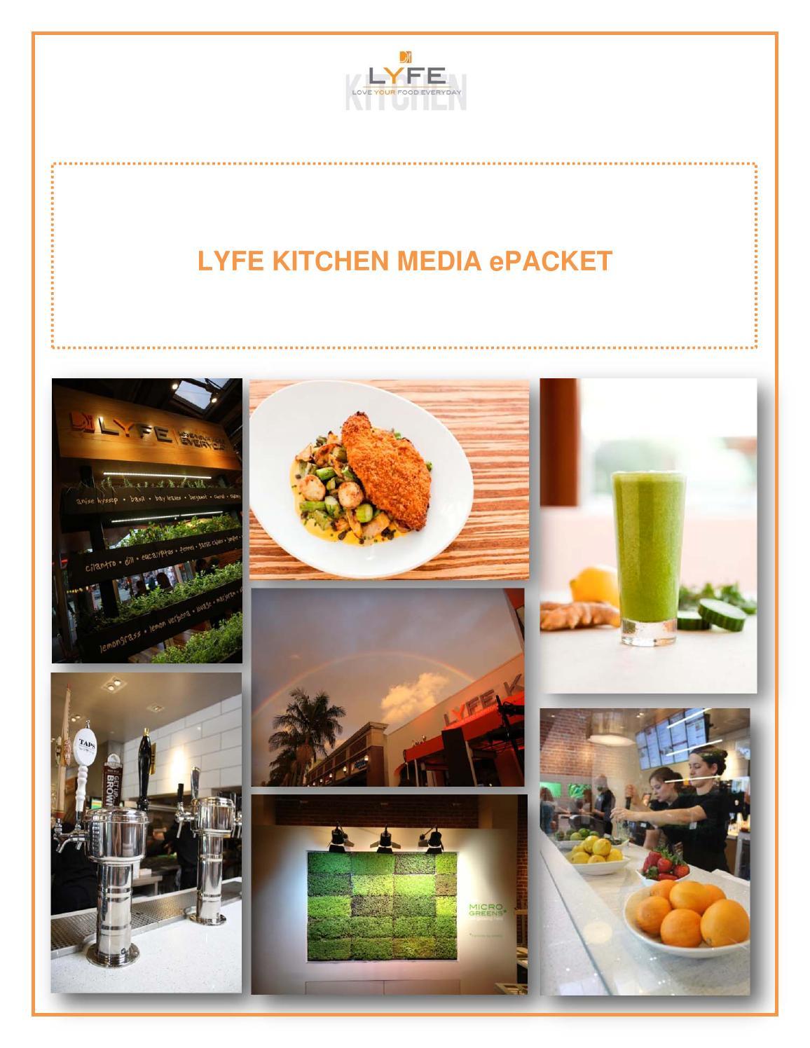 LYFE Kitchen Media ePacket by LYFE Kitchen - issuu