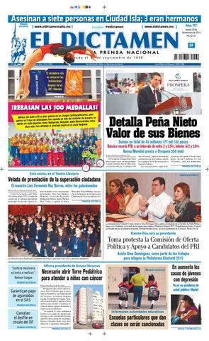 El Dictamen 20 de Noviembre de 2014 by El Dictamen - issuu 970c573bc62f6