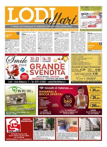 Lodi Affari 14 Novembre by Lodi Affari - issuu fe97e65de26