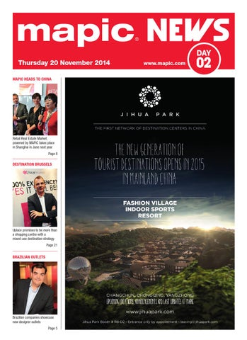 Mapic 2014 News 2 By Reed Midem Real Estate Shows Issuu