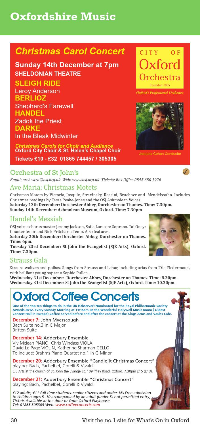 Living In Oxford December By In Oxford Issuu