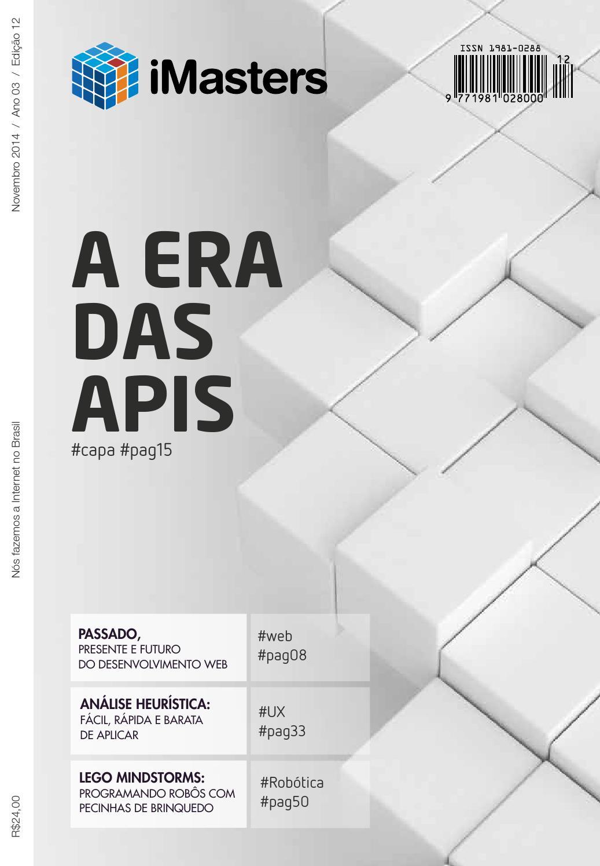 Revista iMasters  12 - Novembro by iMasters Redação - issuu a3dba874da5a4