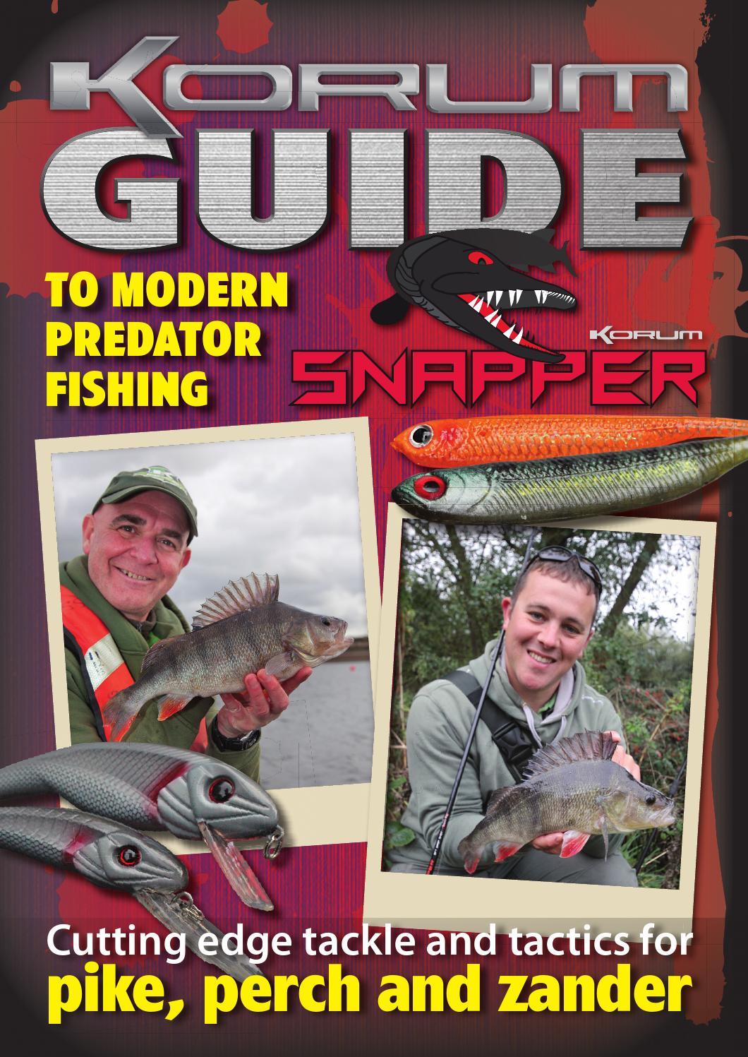 THE KORUM GUIDE TO MODERN PREDATOR FISHING by Fishing UK - issuu