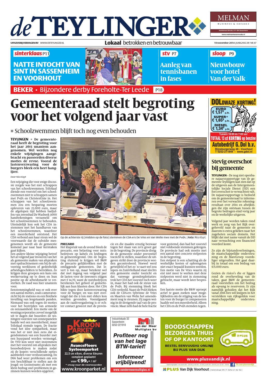 Tl week 47 14 by Uitgeverij Verhagen issuu