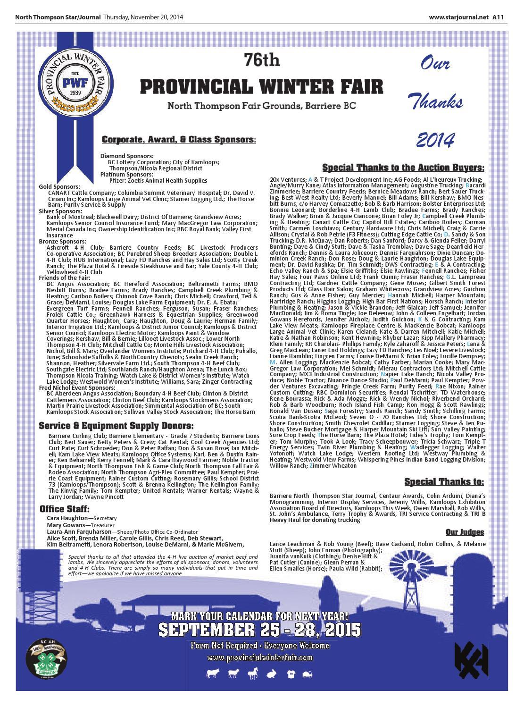 Barriere Star Journal November 20 2014 By Black Press