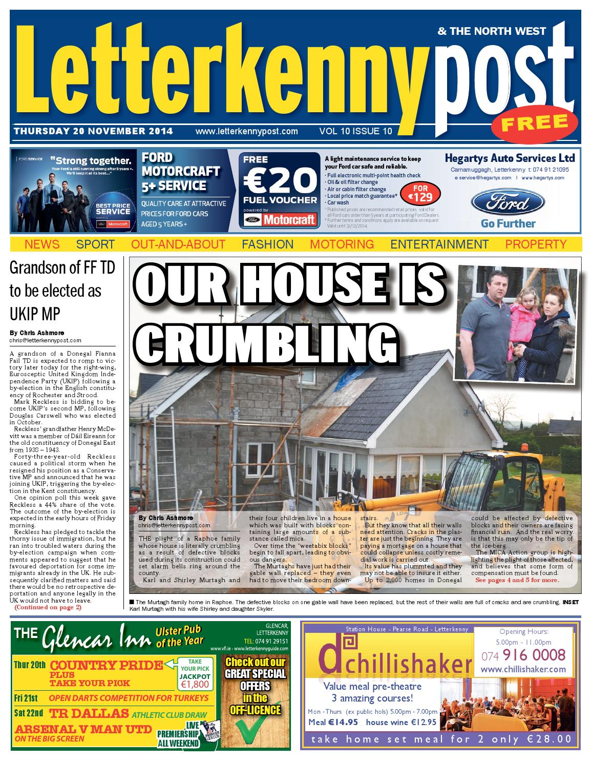 350225992b8 20 Nov 2014 Letterkenny Post by River Media Newspapers - issuu