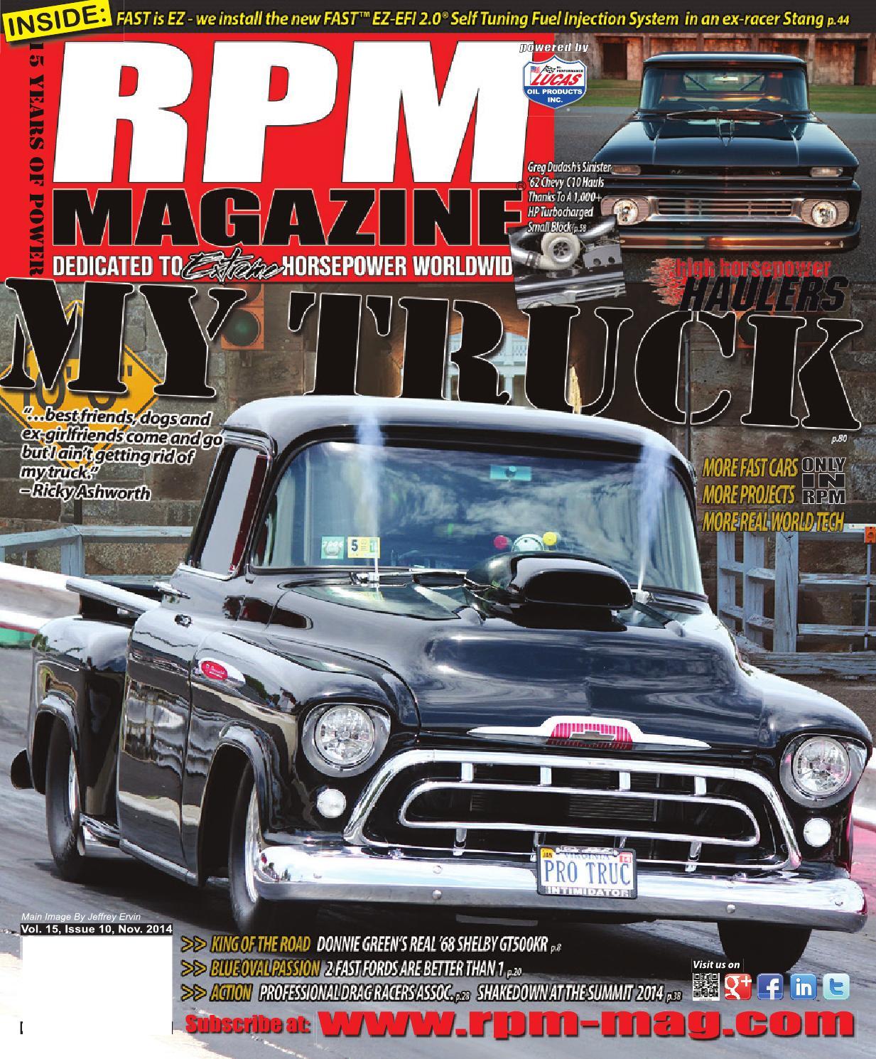 Rpm Magazine November Issue 2014 By Issuu Tail Lights Trailer Set Truck Ford Rv Semi Angle W Wiring Plug Ebay
