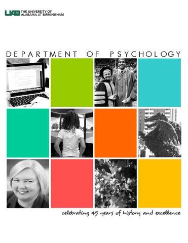 44803b955f9b UAB Psychology Magazine - Celebrating 45 Years by UAB Psychology - issuu