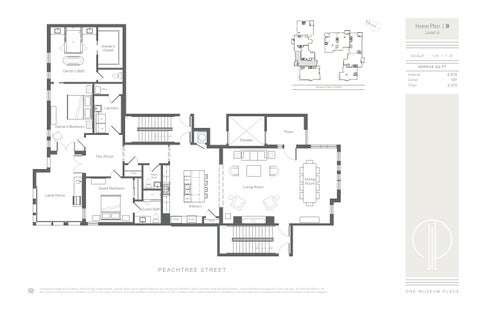 One Museum Place Floor Plans By Atlanta Fine Homes Sotheby S International Realty Issuu