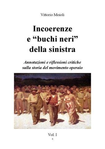 Evita Che Una Porta Scalfisca Il Muro.Incoerenze E Buchi Neri Della Sinistra By Vittorio Moioli
