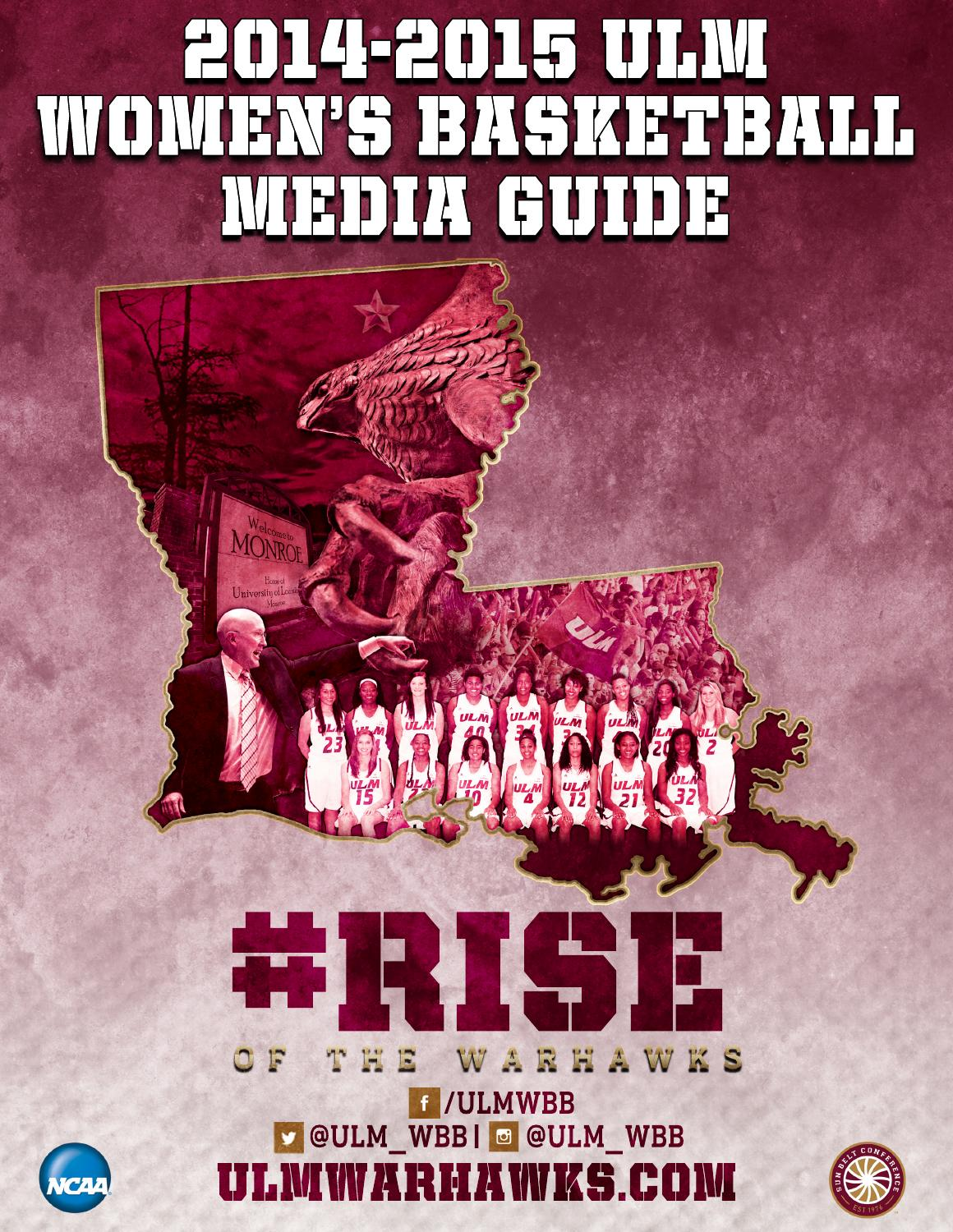 2014-15 ULM Women\'s Basketball Media Guide by ULM - issuu