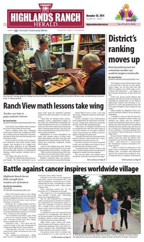 c19ad741a5fcc Highlands Ranch Herald 1120 by Colorado Community Media - issuu