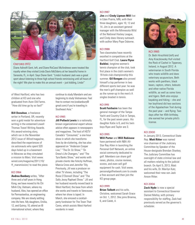 KO Magazine, Fall 2013 by Kingswood Oxford School - issuu