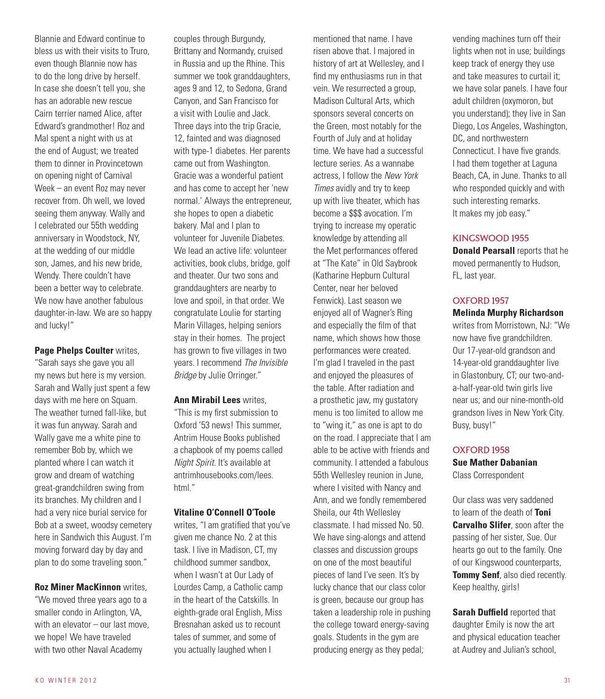KO Magazine, Winter 2012 by Kingswood Oxford School - issuu