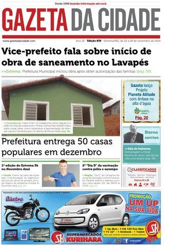 314c114b5 Ed 839 by Gazeta da Cidade - issuu