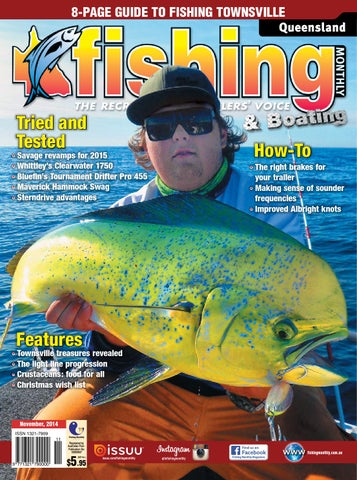 e077d81077 Queensland Fishing Monthly - November 2014 by Fishing Monthly - issuu