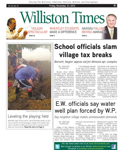 Williston times 112114 by the island now issuu page 1 fandeluxe