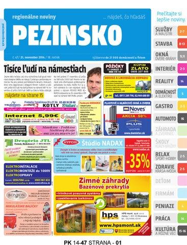 6b353dc0cfd PEZINSKO 14-47 by pezinsko - issuu