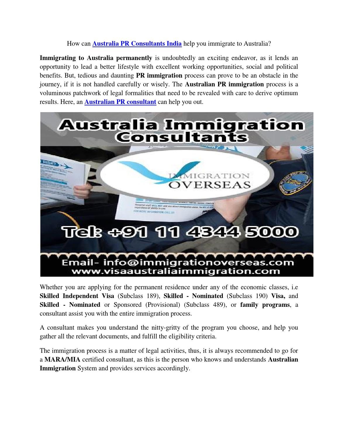 Avail quick, reliable Skilled Immigration Consultants in New