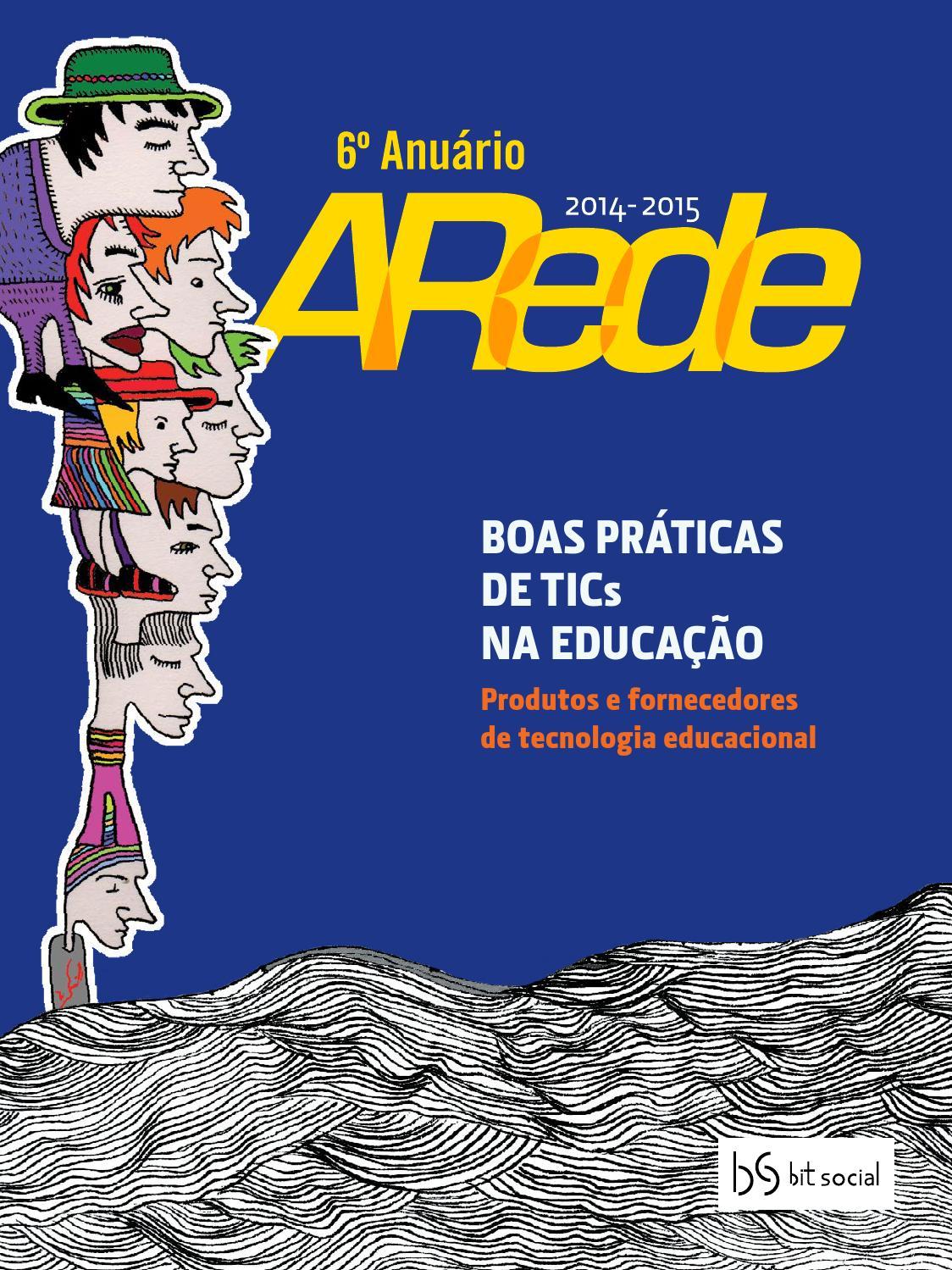 1b9308b537ece 6º Anuário ARede by Mandacaru Design - issuu