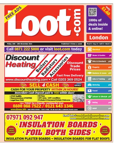 16c6667e34 Loot London, November 14th 2014 by Loot - issuu